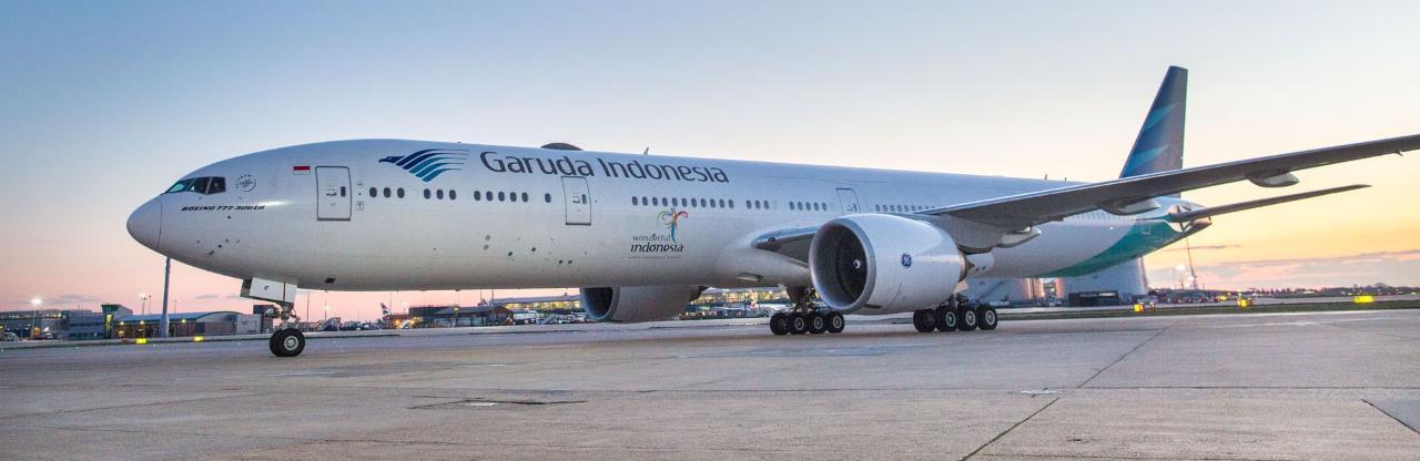 Garuda Indonesia Heathrow