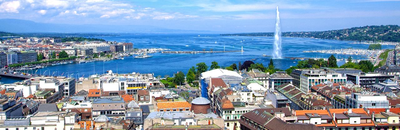 how to get from geneva airport to city center