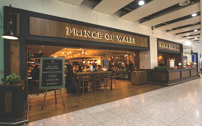 The Prince of Wales Store Front