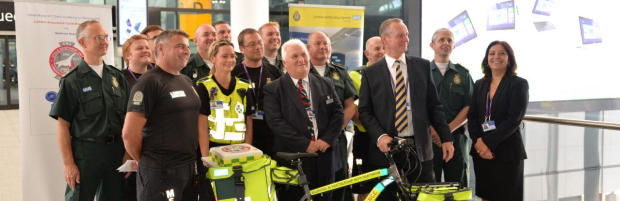 10 years of cycle paramedics